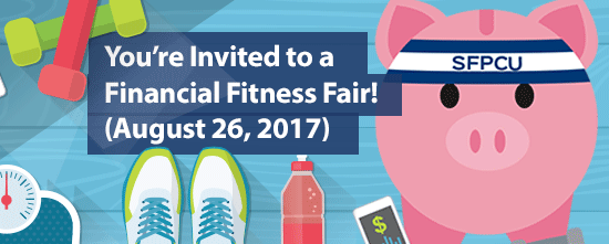 You're Invited to a Financial Fitness Fair!