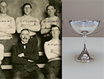 1913 Tug of War Team and Trophy