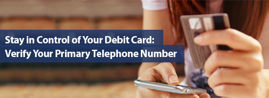 Verify Your Primary Telephone Number