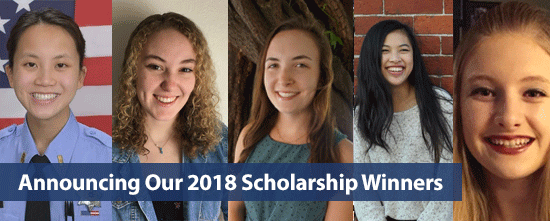 SFPCU 2018 Scholarship Winners