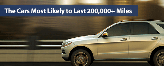 The Cars Most Likely to Last 200,000+ Miles