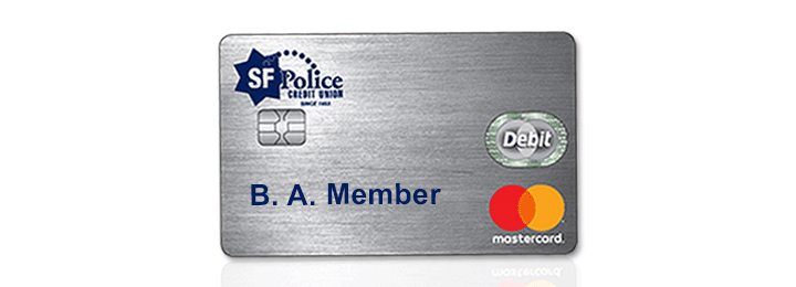 SFPCU EMV Debit Card