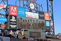 Law Enforcement Night at AT&T Park
