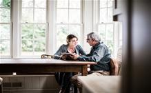 Family talking about estate planning