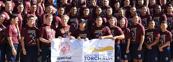 SFPCU supports the Torch Run