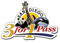 Unlimited admission to SeaWorld San Diego, the San Diego Zoo, and the San Diego Wild Animal Park